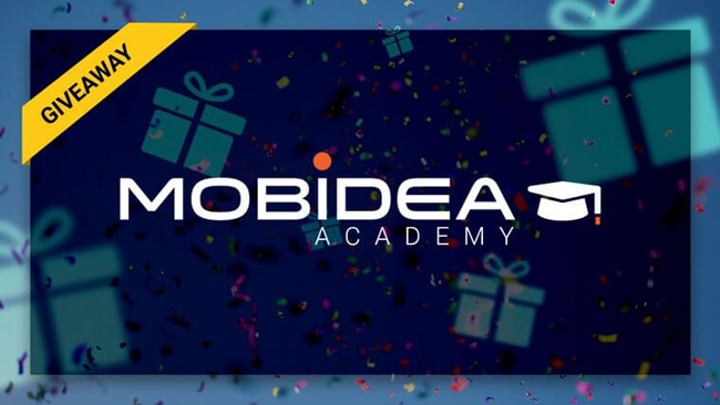 Check Mobidea Academy's Terrific Giveaway