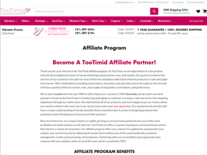 Tootimid Sex Toys Affiliate Program Reviews Affpaying We encourage everyone to explore all of the types of pleasure our bodies are capable of having. affpaying