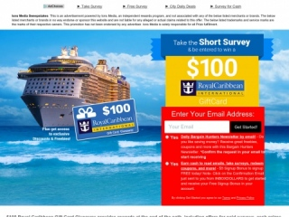 100 Royal Caribbean Gift Card Giveaway Us