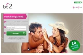 Første internasjonale datingside