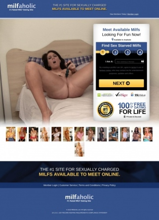 Milfaholic Dating Site