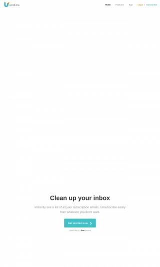 Unroll me (US) (Incent) - Affiliate Program, CPA Offer - Affplus