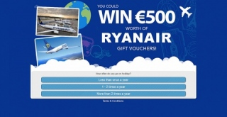 | [MOB] Win €500 Ryanair Voucher /IE - Affiliate Program, CPA