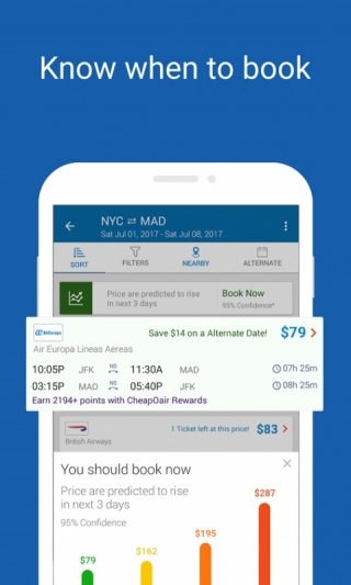 CheapOair: Cheap Flights, Cheap Hotels Booking App [Android