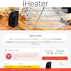 iheater cpa english lp desktop mobile uk affiliate