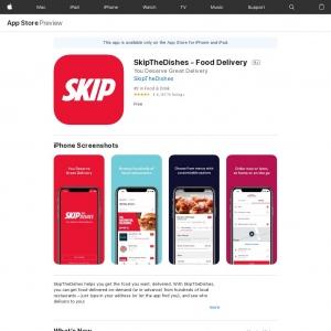 Skip The Dishes - CA - IOS - CPI