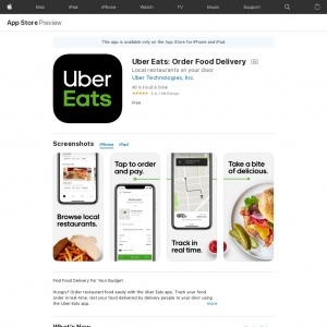 Uber Eats - IOS - BR