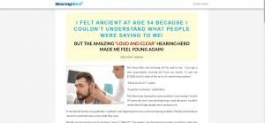 Hearing Hero - V1 - Presell Page - Health - SS - [US, CA]