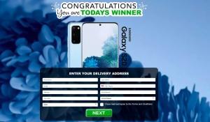 WAP WEB Samsung Galaxy S20 (Blue Hortensia)  - CC submit / USA