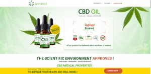 Annabiol CBD Oil - CBD - SS - [FR, BE, LU]