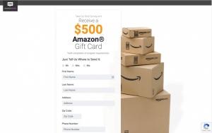 Amazon - CPL SOI  - US - Sweepstakes - Responsive