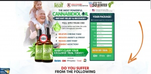 Mighty Leaf CBD Oil - CBD - Trial - [US] - with 1-Click Upsell [Step1 $20.8 / Upsell $20.8]