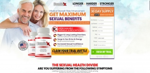 DominX - Male Enhancement - Trial - [US] - with 1-Click Upsell [Step1 $20.8 / Upsell $20.8]