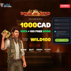Wild Tornado Casino [CA, AUS, AU, IE, DE]