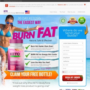 Diet & Weight Loss- WEB+MOB] KETO BODYTONE /INTERNATIONAL [CPS] *FB PIXEL* - CPA
