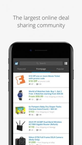 Slickdeals: Shopping for Deals, Coupons, Discounts (API) - Affiliate