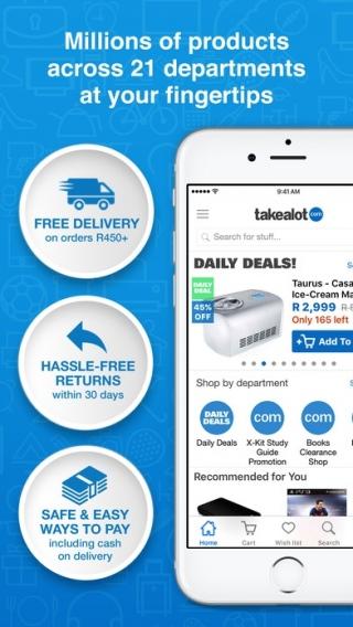 Takealot com Shopping App (API) - Affiliate Program, CPA